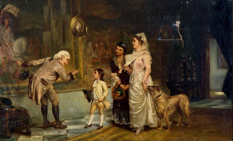 Afb. A young prince, door Manuel Arroyo y Lorenzo (1854-1902). Foto met dank aan www.venduehuis.com.