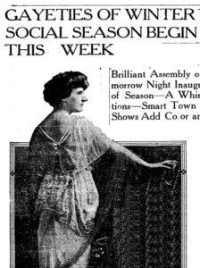 Afb. 2. Julia Johnson Calhoun ten tijde van haar huwelijk in de New York Times.