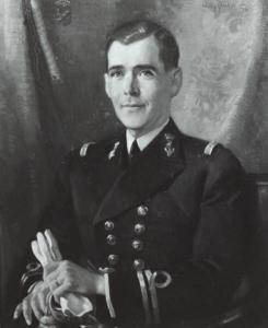Afb. Jonkheer Alexander van Geen, portret door W. Sluyter in 1934. Foto met dank aan het Nederland's Adelsboek.