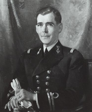 Afb. 1. Jonkheer Alexander van Geen, portret door W. Sluyter in 1934. Foto met dank aan het Nederland's Adelsboek.
