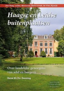 Afb. 2. De voorkant van het boek Haagse en Leidse buitenplaatsen.