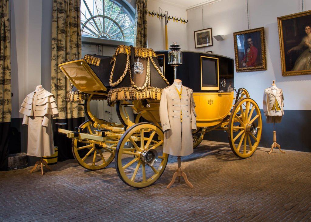 Afb. De Gouden Koets van de jonkheren Van Loon. Foto met hartelijke dank aan Museum Van Loon.