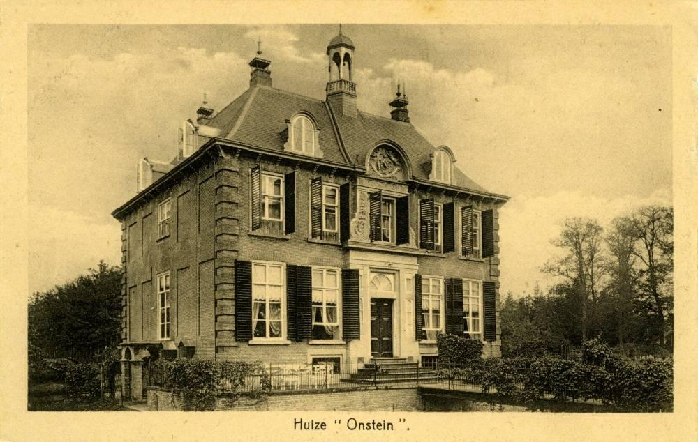 Afb. 2. Het Onstein ten tijde van de baronnen Van der Heyden van Doornenburg. Foto met dank aan de beeldbank van www.kastelen.nl.