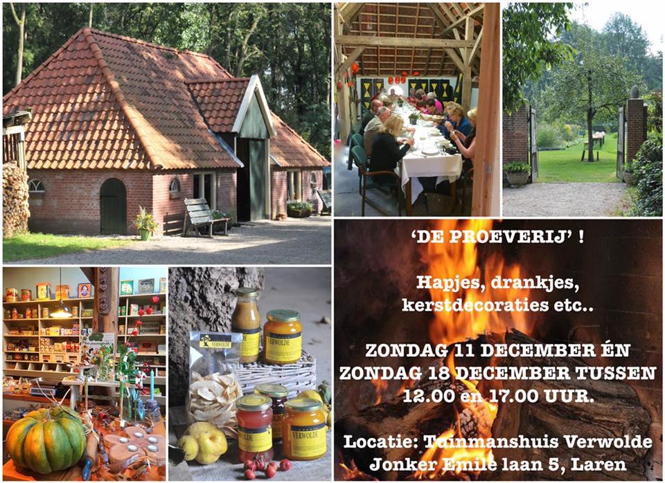 Afb. 2. Een impressie van de landgoedwinkel. Foto's met dank aan www.facebook.com/LandgoedVerwolde.