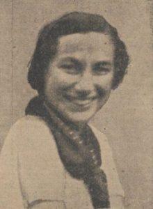 Afb. 13. Mejuffrouw Marguerite Michelin.