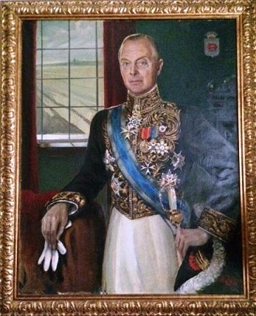 Afb. 4. Mr. Justinus Egbertus Hendericus baron van Nagell (1882-1963). Portret door Dick van Diest part. bezit.