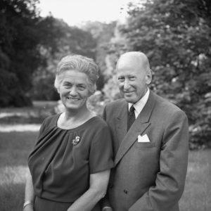 Afb. 3. De ouders van Pieter van Vollenhoven: Pieter van Vollenhoven en Jacoba Gijsberta Stuyling de Lange. Foto met dank aan Max Koot/RVD.