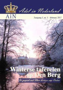 De voorkant van het digitale magazine van AiN.
