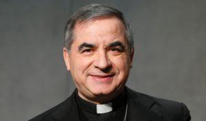 Afb. Aartsbisschop Giovanni Angelo Becciu. Foto met dank aan www.orderofmalta.int.