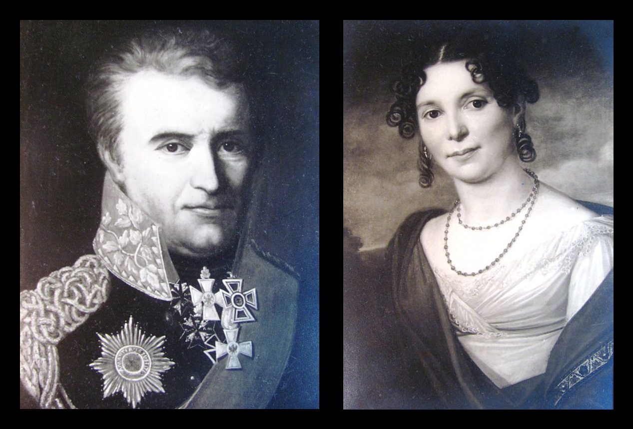 Afb. 2. Frederik Reinhard Burchard Rudolf graaf van Rechteren Limpurg (1752-1842) en zijn tweede echtgenote Augusta Eleonora Prinses zu Hohenlohe-Kirchberg (1782-1847).