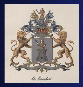 Afb. Het familiewapen De Beaufort.