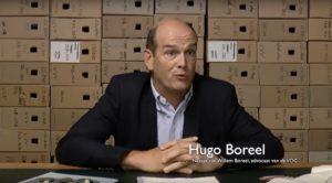 Afb. Jonkheer Hugo Boreel. Screenshot met dank aan www.gahetna.nl.