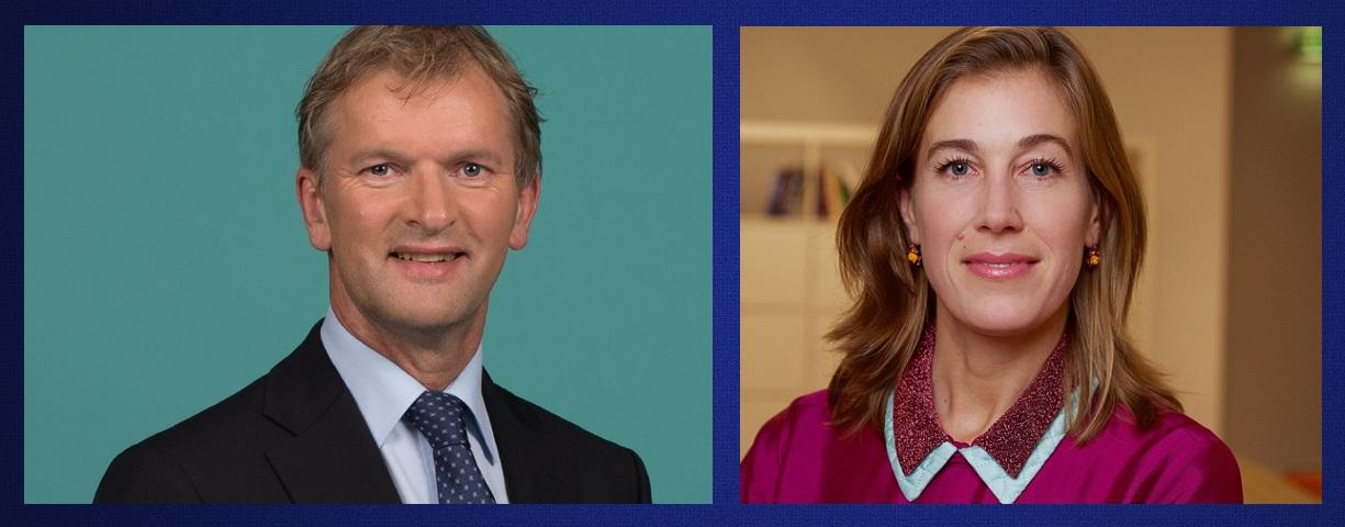 Afb. Maurits von Martels en Corinne Ellemeet. Foto's met dank aan http://cdaoverijssel.nl en https://groenlinks.nl/corinne-ellemeet.