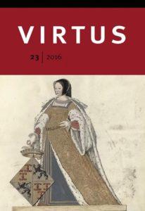 Afb. De voorkant van Virtus: Elisabeth van Culemborg.