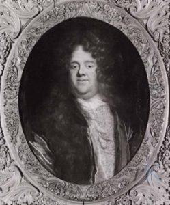 Afb. 3. Walraven van Heeckeren (1643-1701), Landdrost en ambassadeur, bouwheer van de schelpenkoepel. Portret coll. Twickel.