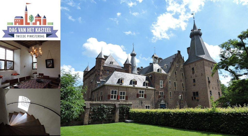 Afb. 1. Doorwerth, een kasteel uit een sprookjesboek met torens, tinnen en transen.