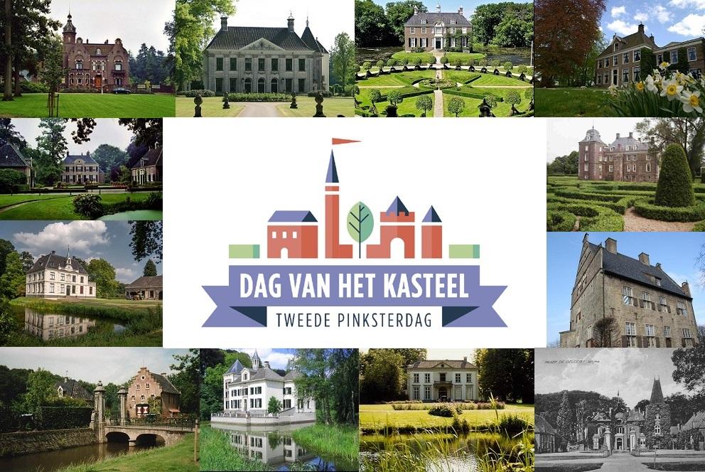 Afb. 1. 19 kastelen en buitenplaatsen doen dit jaar in Overijssel mee.