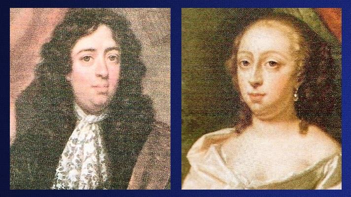 Afb. 1. Isaac Hurgronje (1652 – 1706) en zijn vrouw Josina Phoenix (1663 – 1711).