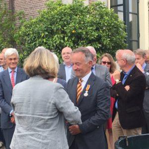 Afb. 1. Ir. Albert graaf Schimmelpenninck: Ridder in de Orde van Oranje-Nassau. Foto met hartelijke dank aan Kasteel Twickel.