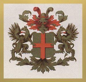 Afb. Het familiewapen Van Heeckeren.