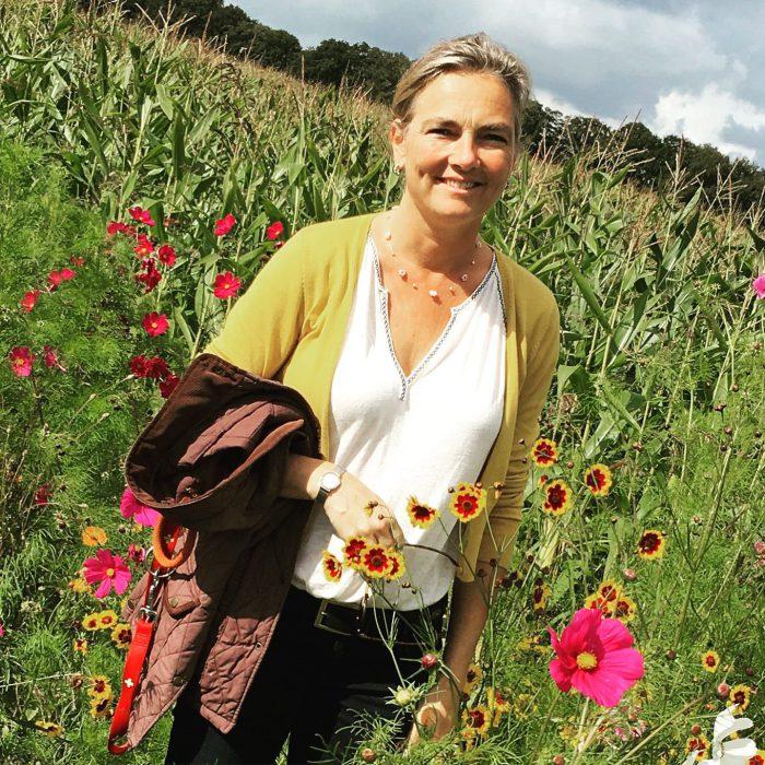 Afb. Nathalie van Verschuer: blogger over het landgoedleven op Mariënwaerdt.