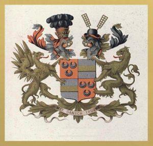 Afb. Het familiewapen Van Wassenaer.