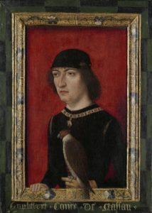Afb. Engelbrecht II graaf van Nassau, heer van onder meer Breda.