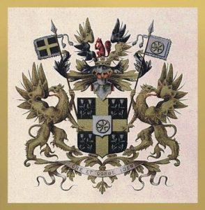 Afb. Het familiewapen Van Asch van Wijck.