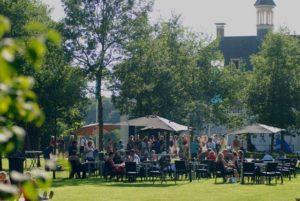 Afb. 2. De Tuin der Lusten bij een vorige editie op havezate De Haere. Foto met dank aan Henry Krul.