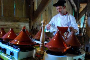 Afb. 2. Culinair genieten op De Tuin der Lusten. Foto met dank aan Henry Krul.