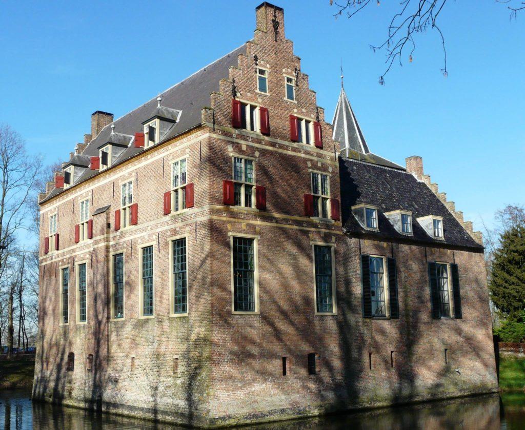 Afb. Kasteel Wijenburg in Echteld. Foto met hartelijke dank aan de Vrienden van de Wijenburg.