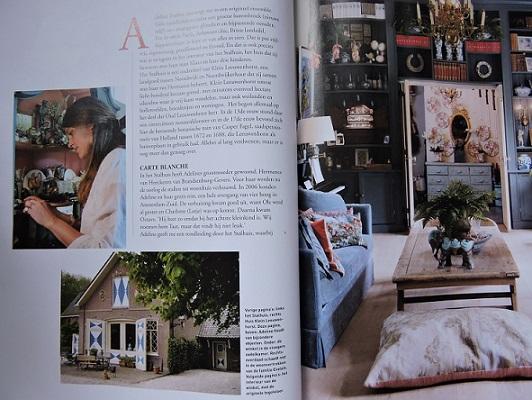 Afb. Adeline Evelein-de Vos van Steenwijk in Hollaands Glorie. Foto met dank aan het magazine Hollands Glorie.
