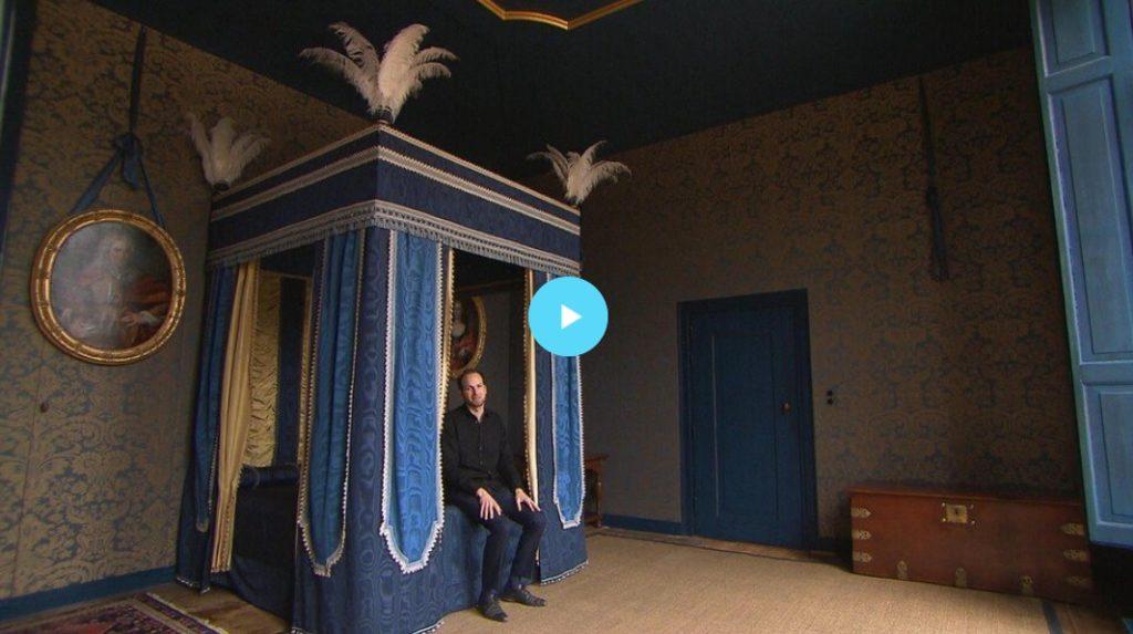 Blauwe room slaapkamer meiden interior kind blauwe